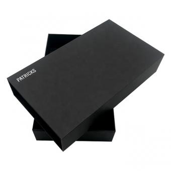 New product Custom black gift box supplier