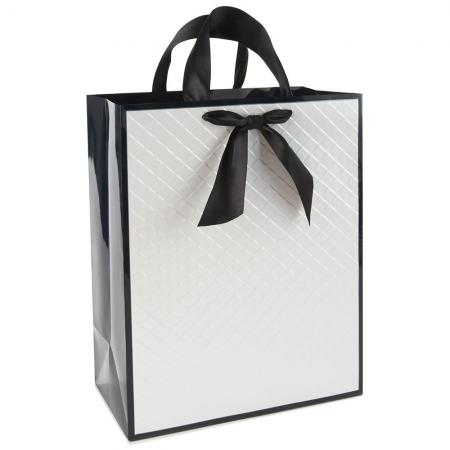 Luxury Gift Shopping Paper Bag with logo