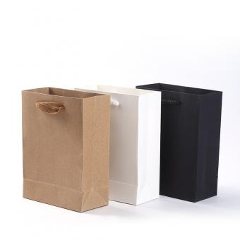 brown kraft paper bag custom and design