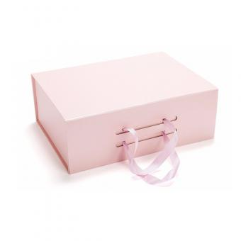 China magnetic flat folding gift box custom