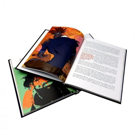 Custom hardcover book printing wholesale