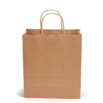 Brown Paper Shopping Bags Wholesale,Cheap Kraft Paper Gift Bag With Handles