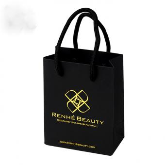 Cheap wholesale custom luxury printing design your own paper bag for packing