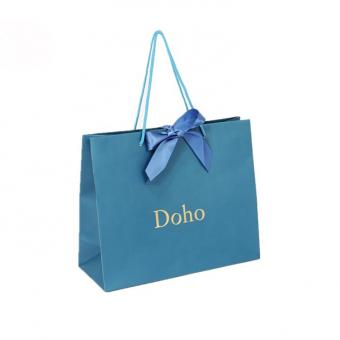 China Factory Free Sample High End Cheap Personalized Logo Oem Custom Paper Purse Gift Bags Wholesale