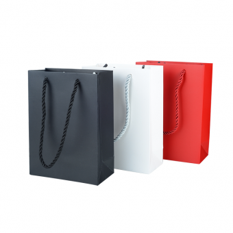 Wholesale Custom Colored Fancy Paper Gift Shopping Bag With Handles custom paper bag