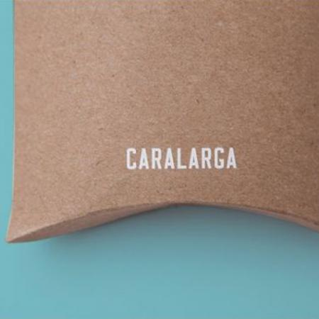 Custom Printing Thick Recycled Brown Kraft Paper Pillow Box Packaging
