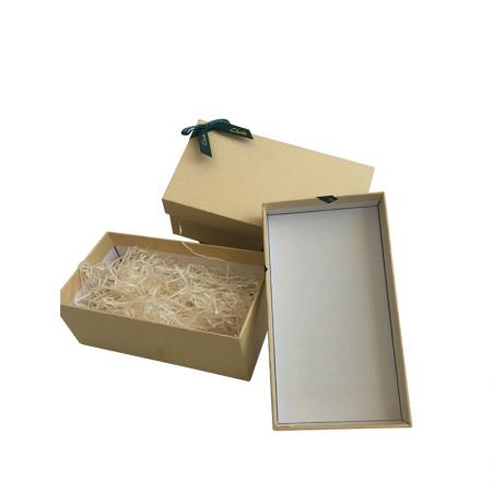 Fast supply speed custom shoe recycled kraft brown craft paper box with logo
