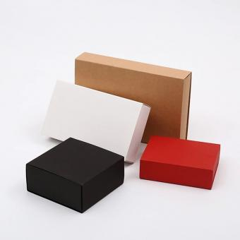 Brown kraft paper sleeve soap paper box