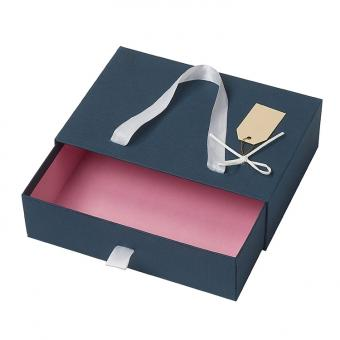 Wholesale Custom High Quality Cardboard Drawer Gift Box With Handle