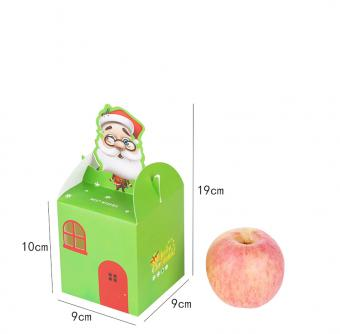 christmas decorative small Cartoon Apple fruit packing boxes wholesale
