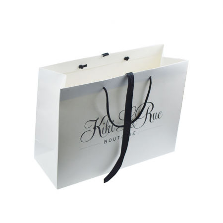 China Factory Custom High Quality Shopping Gift Paper Bag With Your Logo