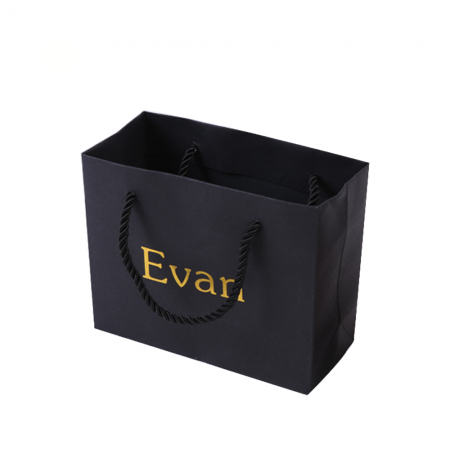 Luxury Custom Laminated Shopping Gift Packaging Paper Bag With logo print