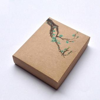 Luxury Custom Packing Kraft Paper Slider Brown Recycle Cardboard Gift Box