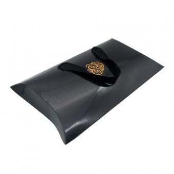 Custom printed wholesale kraft gift paper shaped pillow box