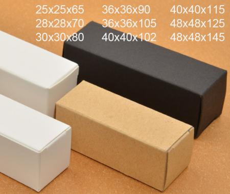 Customized cosmetics kraft paper essential oil bottle packaging boxes