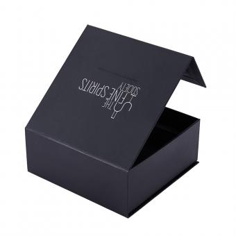 Flap Lid Packaging Cardboard Bespoke Custom Magnetic Closure Gift Box