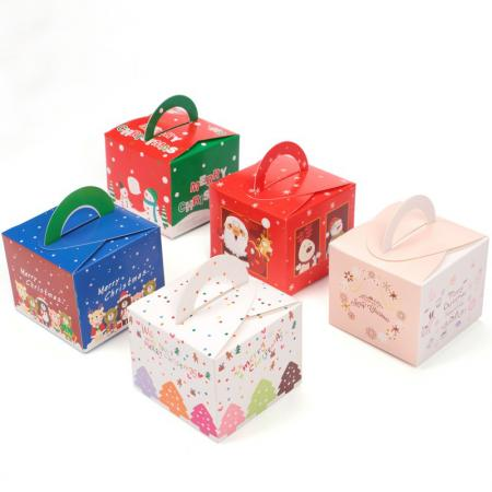 Custom Cheap Luxury Color Printing Packaging Wholesale Candy Christmas Gift Box