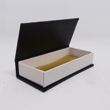 Wholesale cheap black cardboard gift box paper for bottle packaging