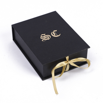 New Customized cardboard luxury gift packaging foldable paper box