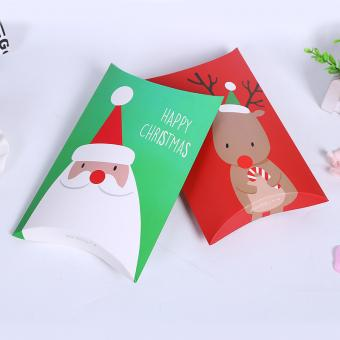 custom white kraft paper christmas paper gift boxes paper box for christmas