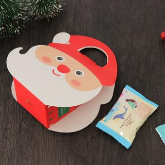 Customized high quality printing paper Christmas favor box