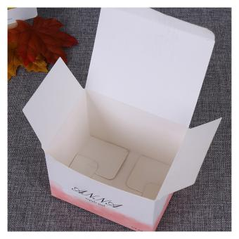 High Quality Cosmetic Commodity Product Small Box Color Cardboard Box