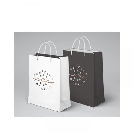 High End Square Bottom Kraft Grocery Paper Bag From China
