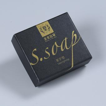 Hand Washing Special Paper Soap Packaging Paper Box Body Soap with Color Printing