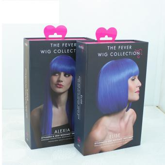 Custom packaging parfum luxe paper wig box with your own  logo printing packaging