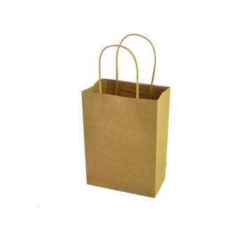 China Factory Cheap Recycled Custom Printed Brown Kraft Paper Bags