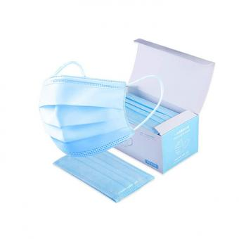 Custom Printing Paper Disposable Surgical Face Mask Packaging Box