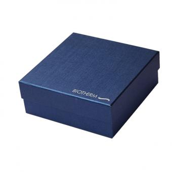 Blue Luxury Top and Bottom paper gift Packaging empty shoe boxes