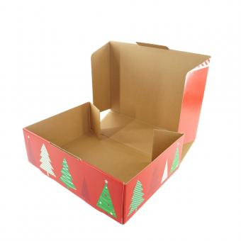 Custom Christmas Corrugated Gift Paper Packing Box