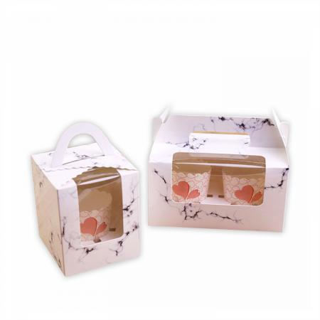Personalized Print Paper Cake Take Away Bakery gift Paper Box
