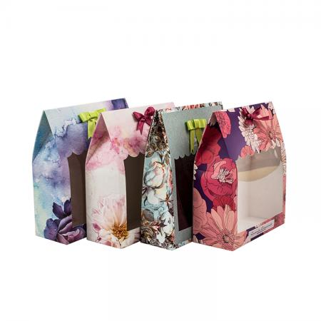 Customized Recyclable white Paper box packaging